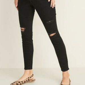 ON Maternity Full-Panel Distressed Skinny Jeans 14